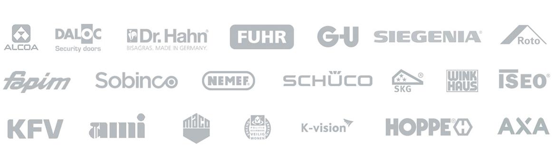 Kozijn Service Nederland werkt met heel veel verschillende merken